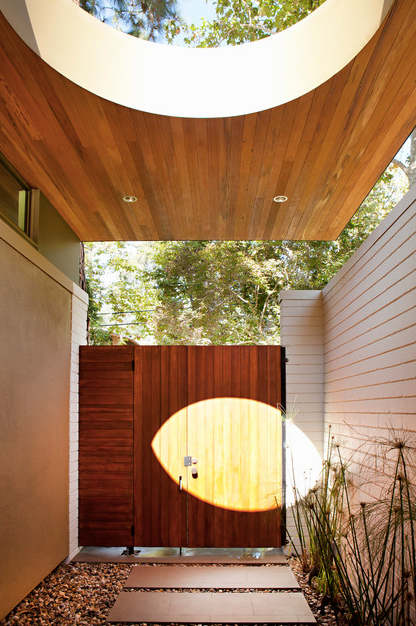 Redwood Architecture Brooktree Los Angeles Mid Century