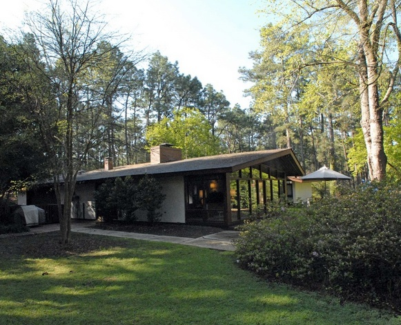 Mid-Century Modern North Carolina Redwood Residence - Part 3   Buy ...