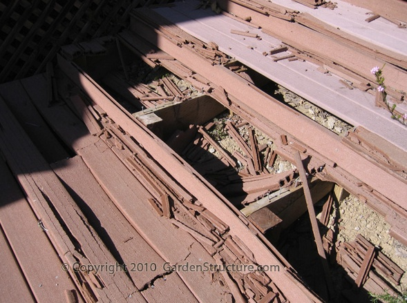 On composite decking buy redwood for Redwood vs composite decking