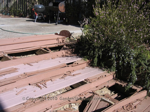 On Composite Decking Buy Redwood