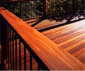 learn how to stain your redwood deck buy redwood. Black Bedroom Furniture Sets. Home Design Ideas