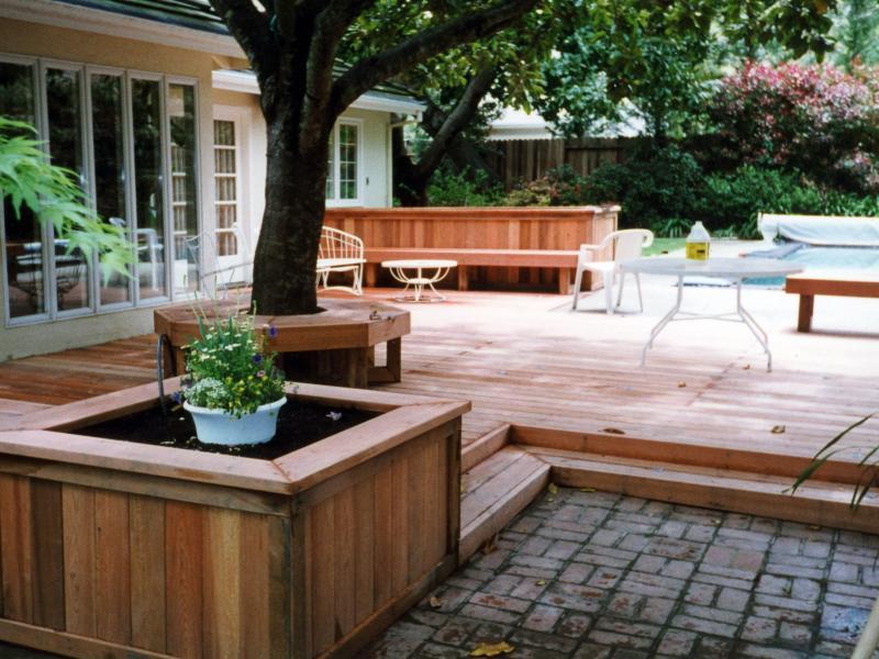 Decks buy redwood for Redwood vs composite decking